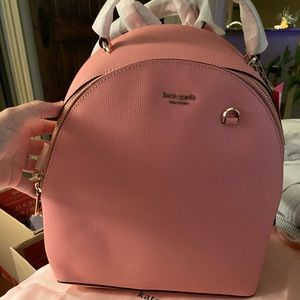 Kate Spade Pink Backpack RARE